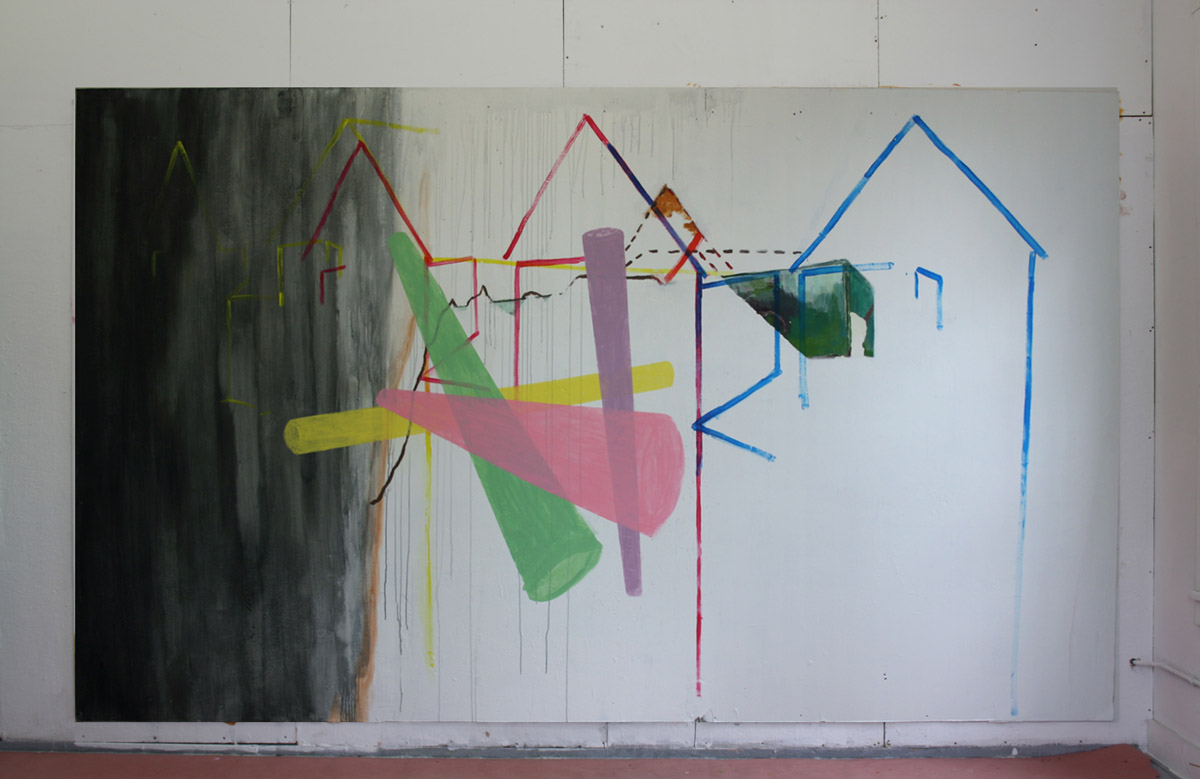 The changing painting installation, 				 Everythings Ephemeral